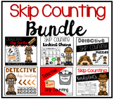 Detective Skip Counting by 10 Bundle