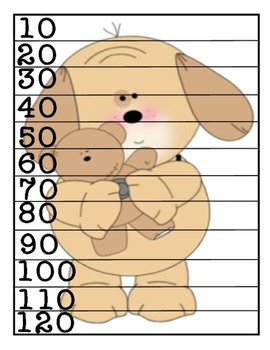 Skip Counting by 10 Puzzle