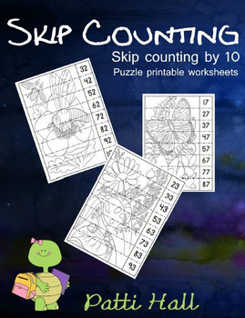 Skip Counting by 10 Puzzles