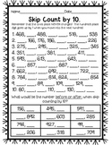 Skip Counting by 10 Within 1,000