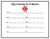 Skip Counting by 10