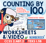Skip Counting by 100 Worksheets ★ Skip Counting by 100 to 1000 ★ 2.NBT2 Activity
