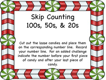 Skip Counting by 100s, 50s, and 20s