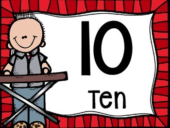 Skip Counting by 10's Classroom Poster Set: Rock N' Roll Kids