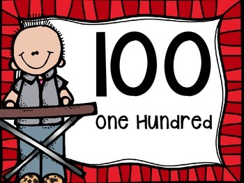 Skip Counting by 100's Classroom Poster Set:Rock N' Roll