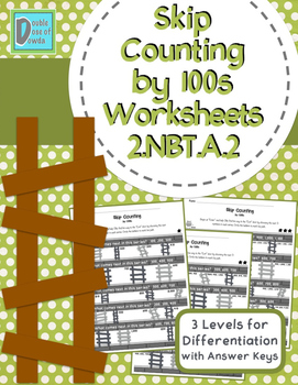 Skip Counting by 100s Worksheets