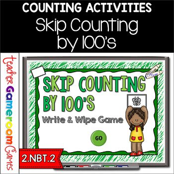 Skip Counting by 100's Powerpoint Game
