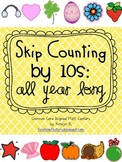 Skip Counting by 10s All Year Long Math Centers (1.NBT.B.1 & 2.NBT.A.2)