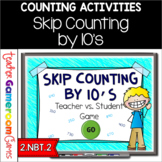 Skip Counting by 10's Powerpoint Game