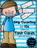 Skip Counting by 10s (within 100) Task Cards