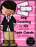 Skip Counting by 10s (within 1,000) Task Cards