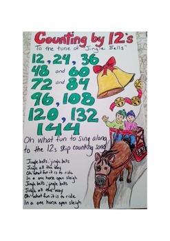 Skip Counting by 12's Song