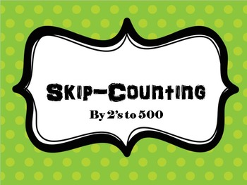 Skip Counting by 2