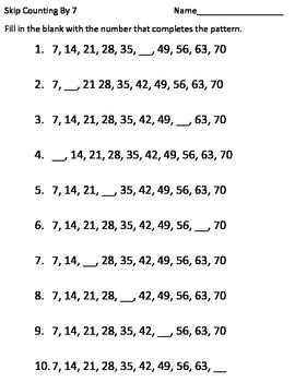 skip counting by 2 3 4 5 6 7 8 9 10 worksheets math in color. Black Bedroom Furniture Sets. Home Design Ideas