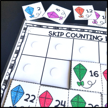 Skip Counting by 2, 3, 5, 10, 20 Math Center Game