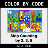 Skip Counting by 2, 3, 5 - Color by Code / Coloring Pages