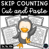 Distance Learning Skip Counting by 2, 5 and 10 Cut and Paste