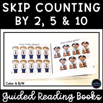 Skip Counting by 2, 5 and 10 Mini Books