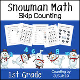 Skip Counting by 2, 5 and 10 (Snowman - Winter Theme)