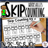 Skip Counting by 2, 5 and 10 - worksheet activity pack