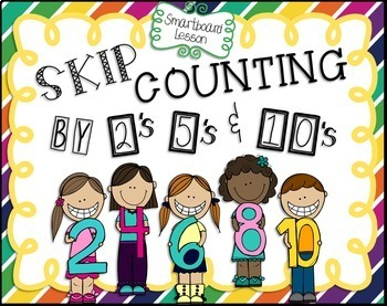 Skip Counting by 2's, 5's, and 10's Smartboard Lesson