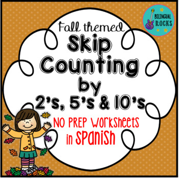 Skip Counting By 2s 5s And 10s Worksheets In Spanish By
