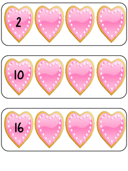 Skip Counting by 2's Centers and Printable