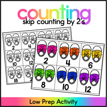 Skip Counting by 2's - Skip Counting Center