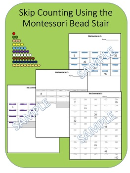 Skip Counting by 2's Using the Montessori Bead Stair
