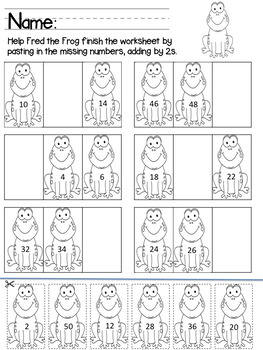 Skip Counting by 2s