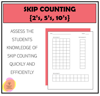 Skip Counting by 2s 5s 10s