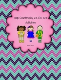 Skip Counting by 2's, 5's, & 10's Activities