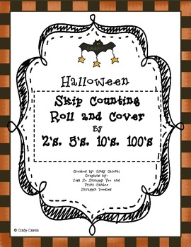 Skip Counting by 2's, 5's 10's and 100''s (Halloween-theme