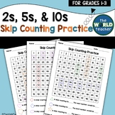 Skip Counting by 2s, 5s, & 10s on a Hundreds Chart