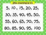 Skip Counting by 2's, 5's, & 10's to 100