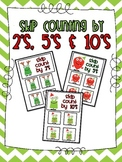 Skip Counting by 2's, 5's and 10's {Holiday Monster Themed}