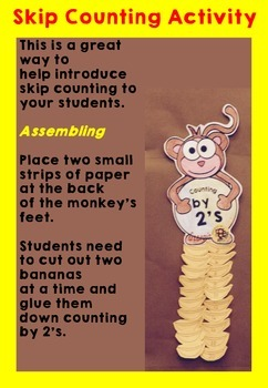 Skip Counting by 2's Activity