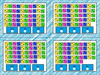 Skip Counting by 2s Poke cards