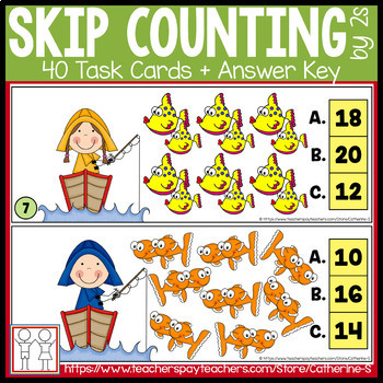 Skip Counting Task Cards