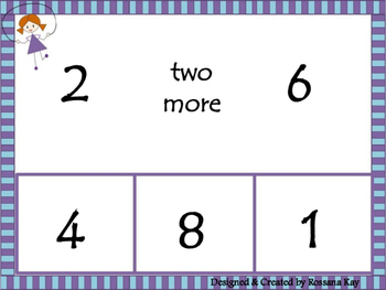 Skip Counting by 2s - Two more and Two Less Than!