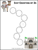 Skip Counting by 2s Worksheets - Paths, Mazes & Puzzles