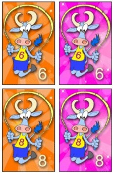 Skip Counting by 2s - a Math Game of Multiples