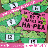 Skip Counting by 3 Craft - Peas in Threes
