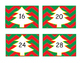 Skip Counting by 4's * Christmas Tree theme!
