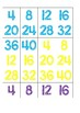 Skip Counting by 4s Game
