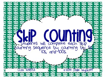 Skip Counting by 5, 10, 100