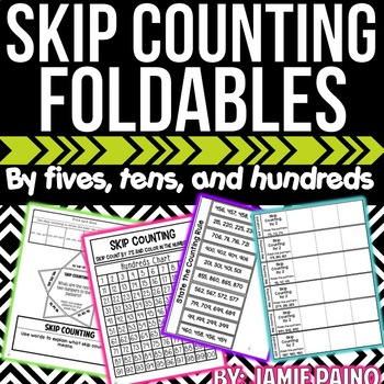 Skip Counting by 5, 10, and 100- Mini Packet