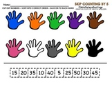Skip Counting by 5 (5-50)