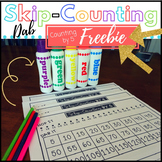 Skip-Counting by 5 Dab - FREEBIE (Math Centers)