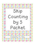 Skip Counting by 5 Packet